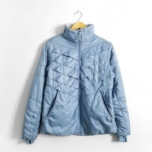 COLUMBIA Blue Lightweight Puffer Omni Heat Jacket